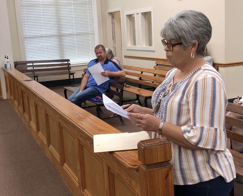 Sabine County Tax Assessor Collector Martha Stone