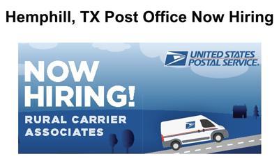 Hemphill Post Office hiring | Business | dailynewsandmore com