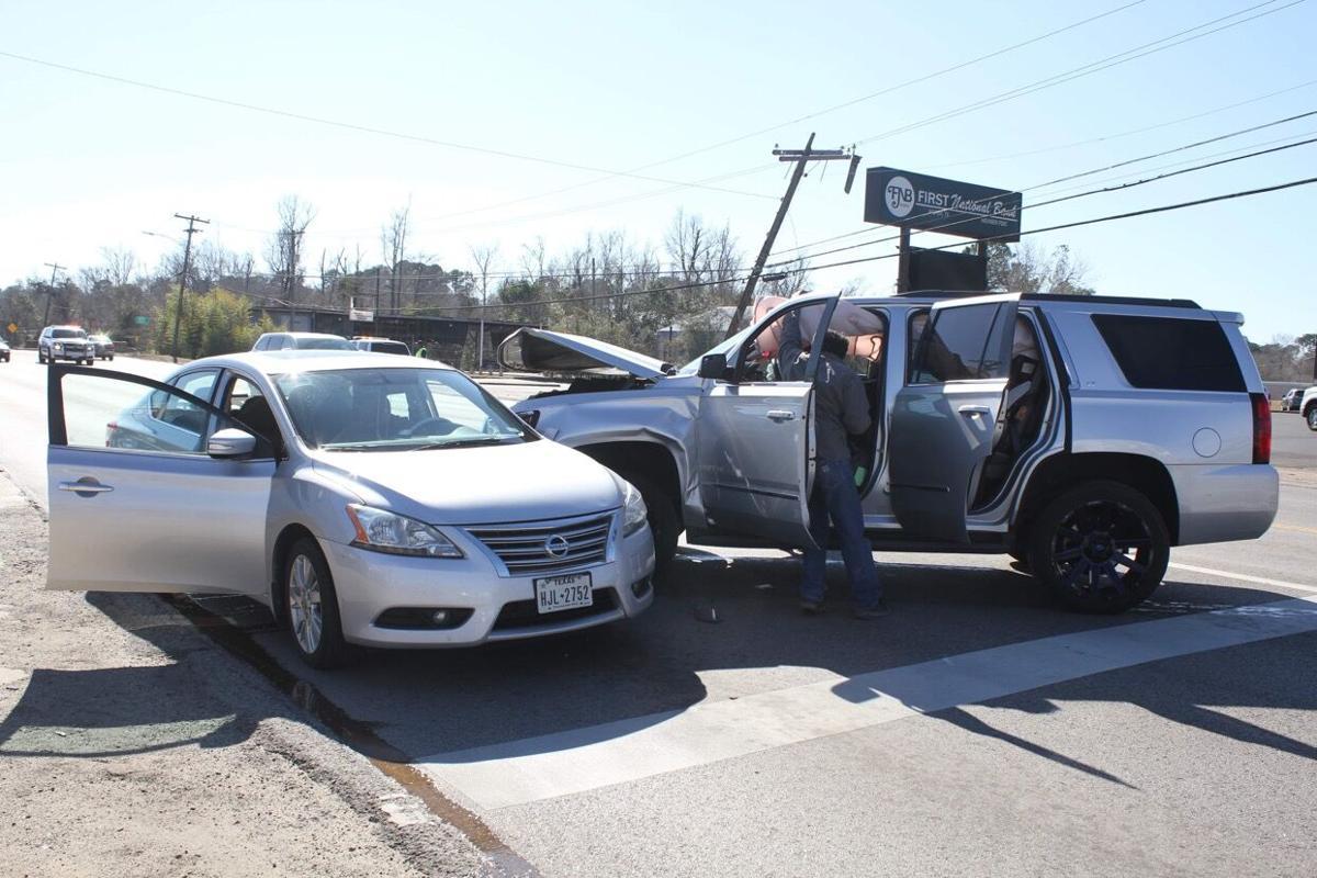 Three vehicle accident, by Steve Stewart