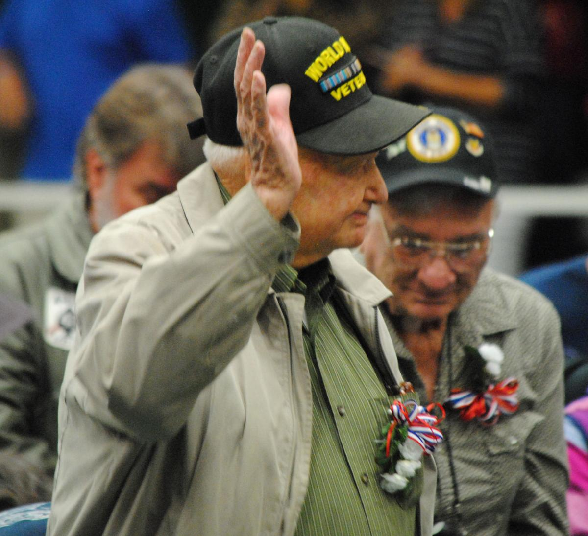 Sabine County Veterans Day Tribute, Hemphill ISD