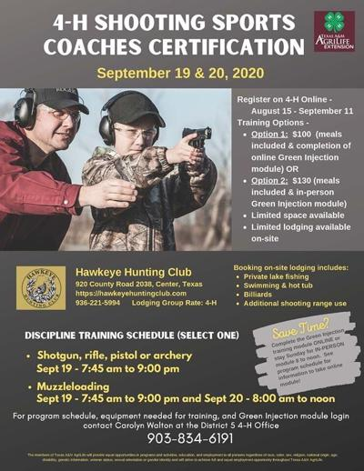 4-H Shooting Sports Coaches Needed