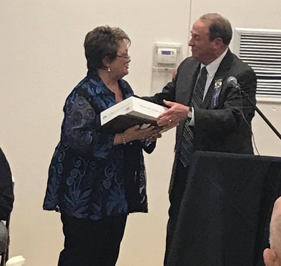 Linda Curtis-Sparks, Director of the Sabine Parish Tourist Commission was officially inducted into the Sabine Parish Hall of Fame