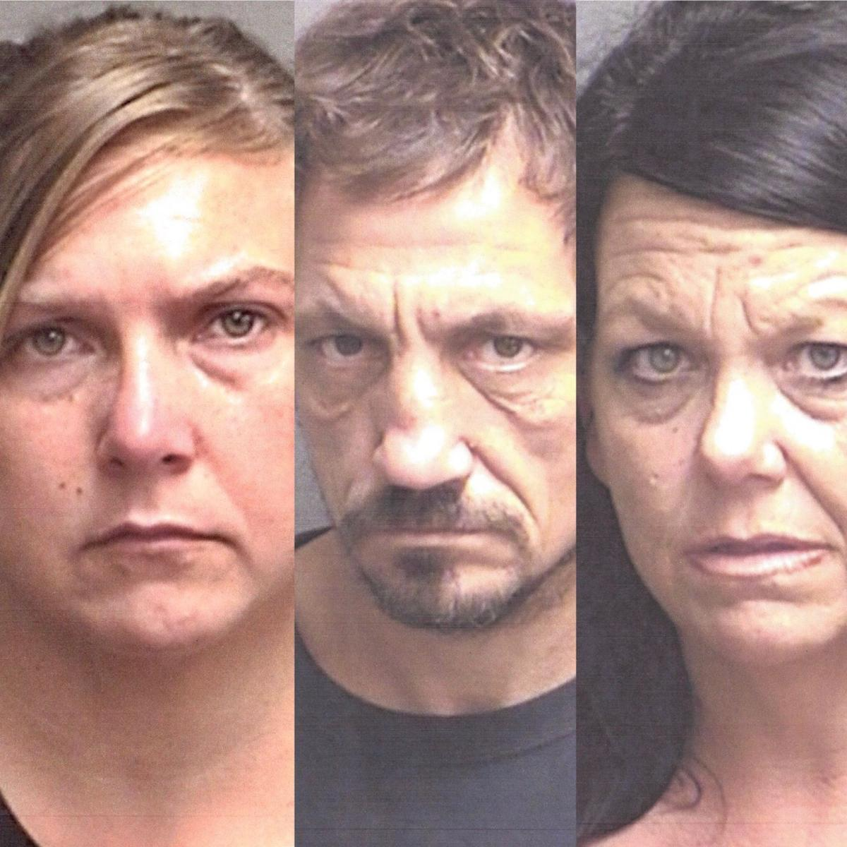 Sabine County trio accused of engaging in organized criminal activity, and theft