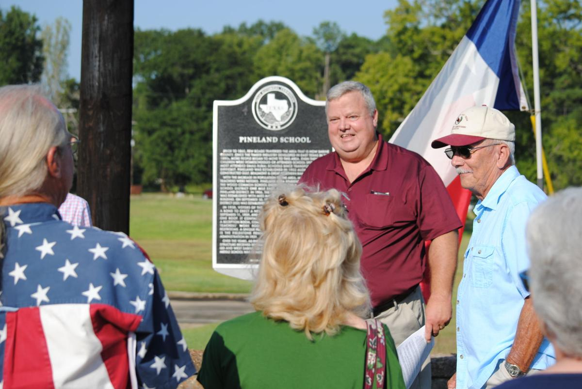 West Sabine Elementary Historical Marker unveiled