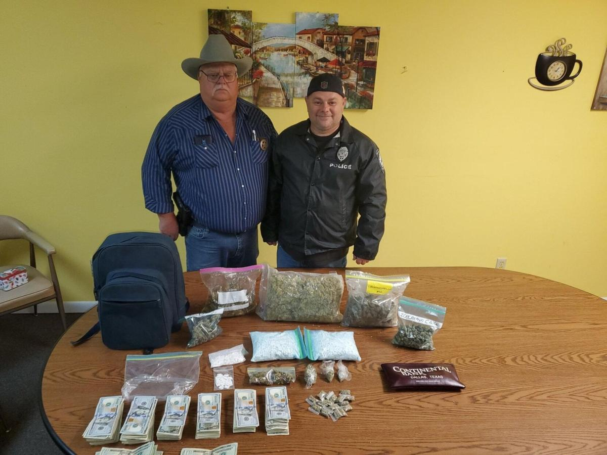Multiagency drug bust near Center