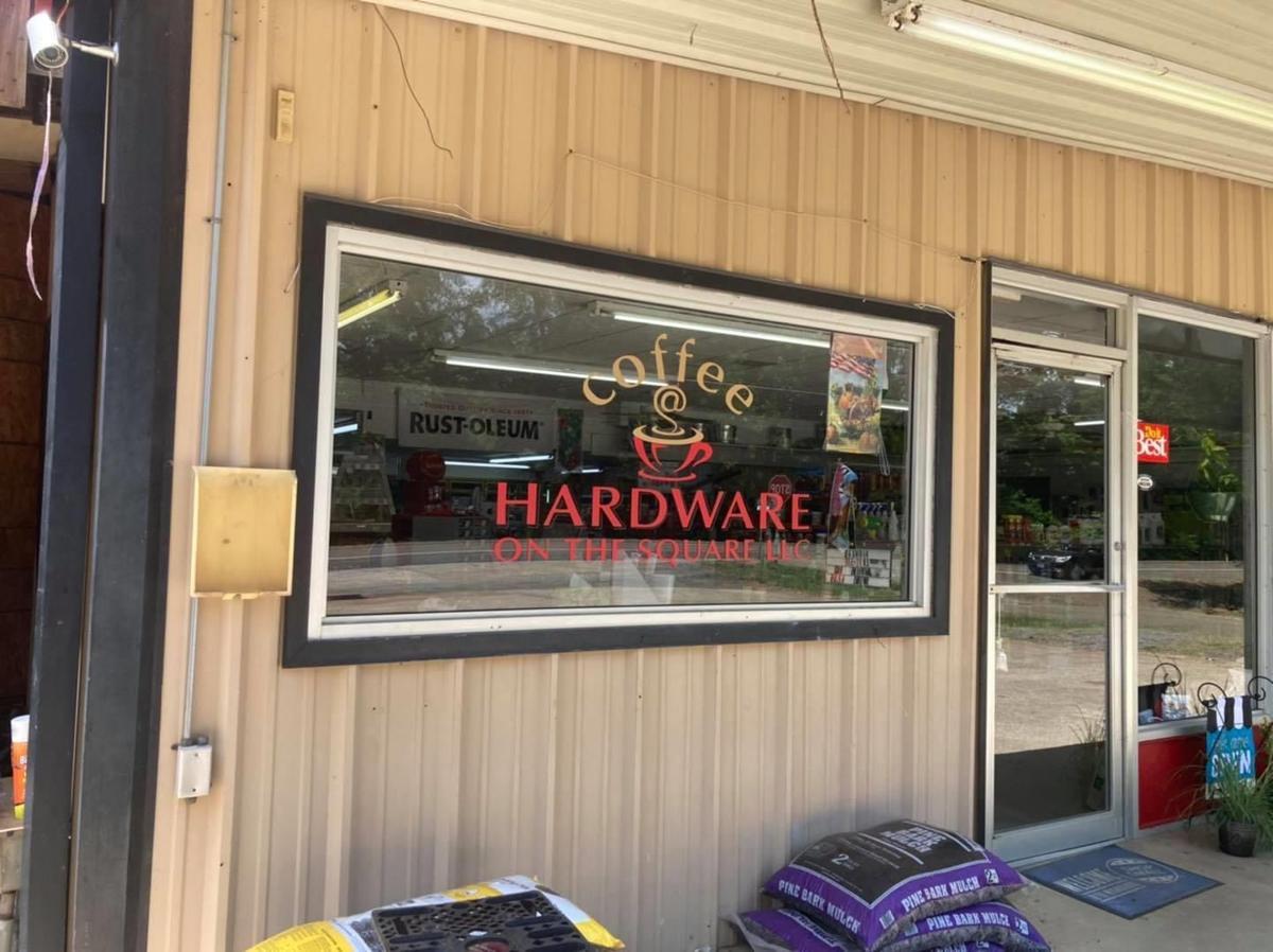 "Broaddus, ""Hardware on the Square"" ribbon-cutting"