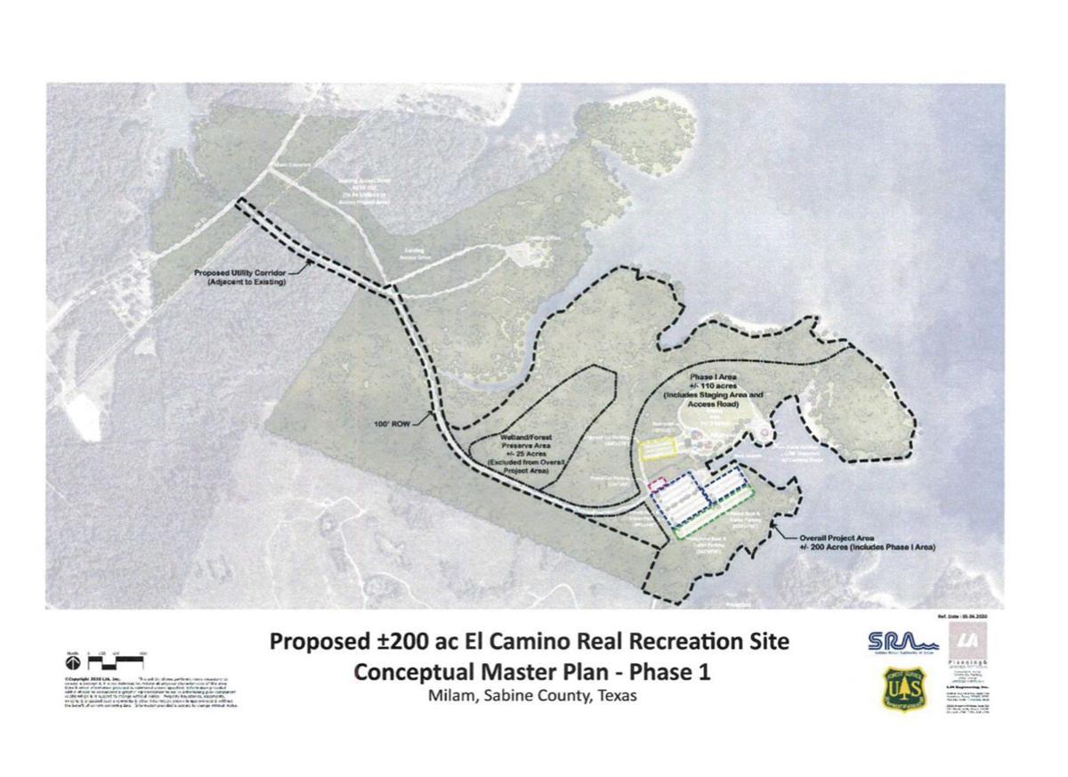 Proposed: El Camino Real Recreation Site Conceptual Master Plan