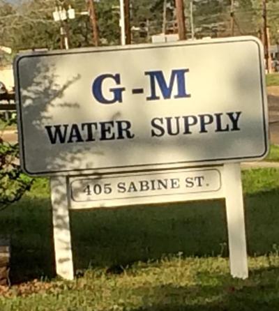 G-M WATER SUPPLY CORPORATION