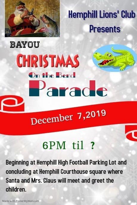 Christmas Parade right around the next corner