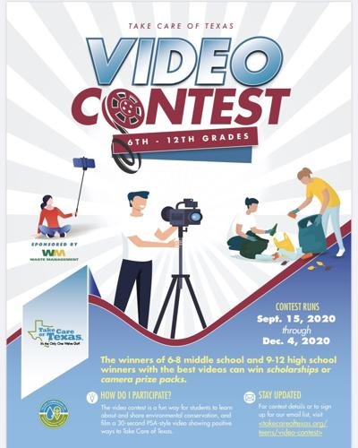 Students encouraged to show how they Take Care of Texas with annual video contest