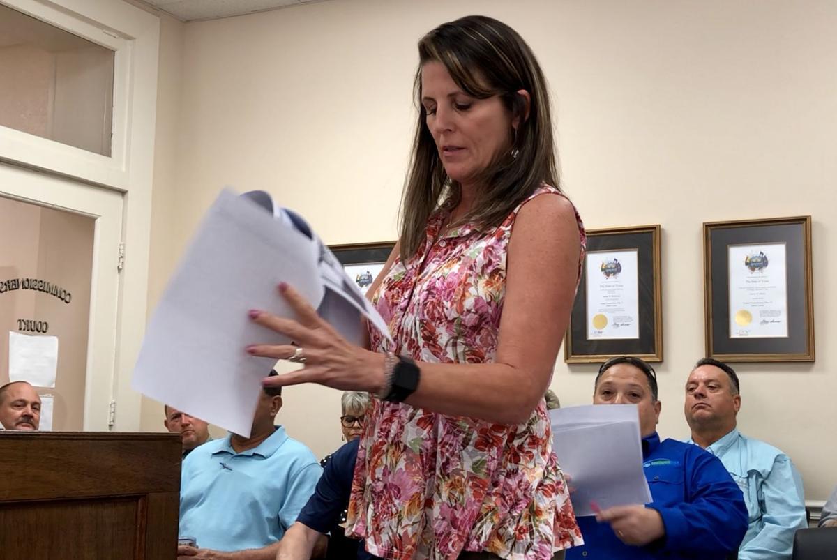 Sabine County Appraisal District Chief Appraiser Cari Papania