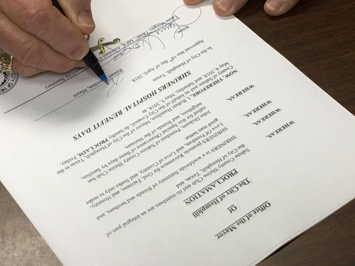 Shriners Proclamation