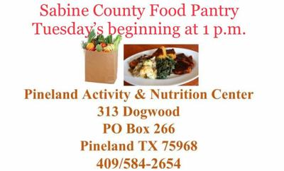 Food Pantry every Tuesday from 1-5 p.m.