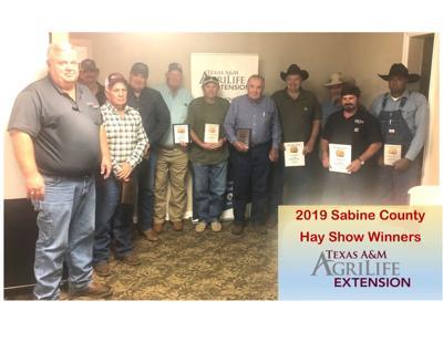 2019 Sabine County Hay Show Winners