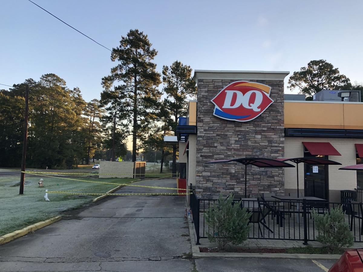 Pineland Dairy Queen closed due to sink hole