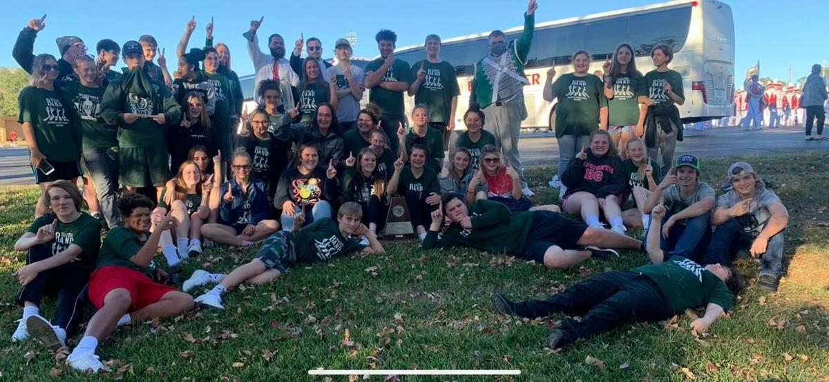 """Little Green Band, received a first division """"superior"""" rating"""