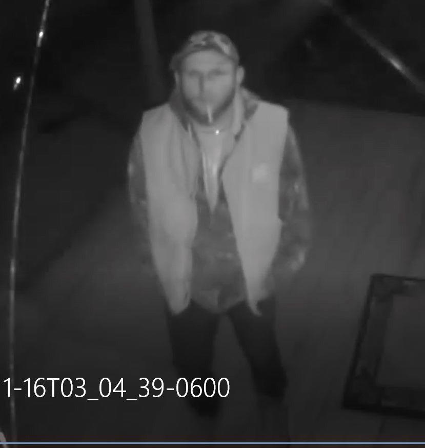 Hemphill burglary, reward offered for information leading to arrest