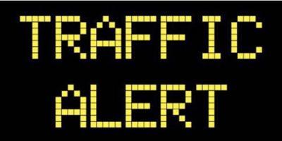 Traffic Alert, road closure