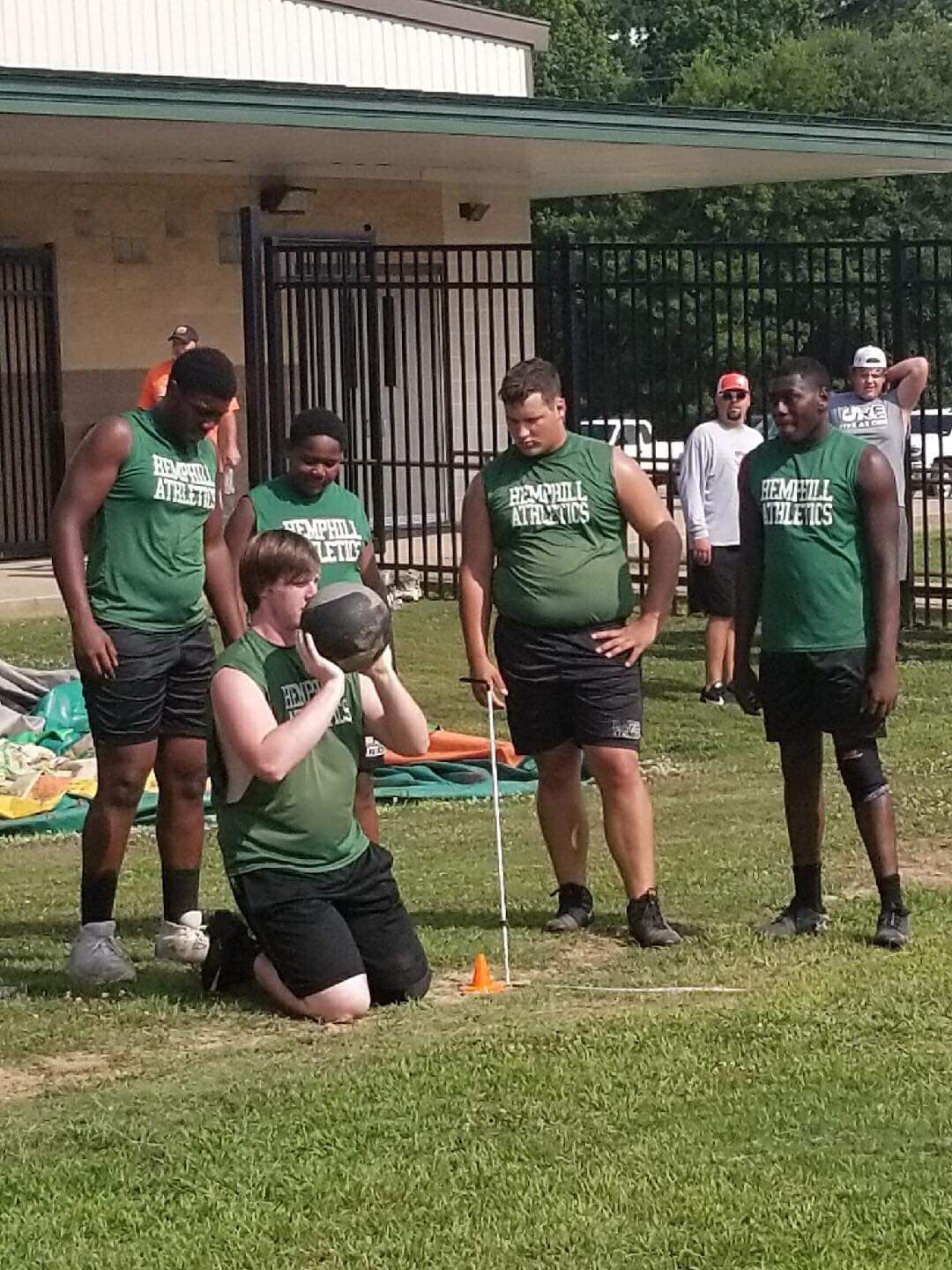 Hornets up to the 2019 Lineman Challenge