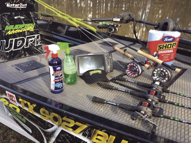 Keeping gear, and electronics squeaky clean on the Fly...