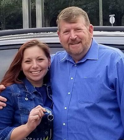 Whitney Martinez Durant with her Dad former New Hope Baptist Church Pastor Ric Martinez