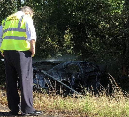 Driver, and 15- year old passenger pronounced deceased on scene in Sabine County accident