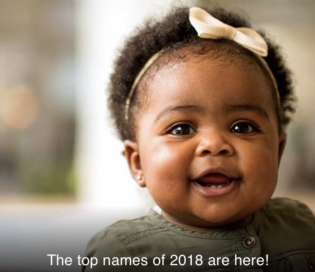 Emma and Liam Repeat as Social Security's Top Baby Names for