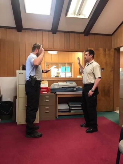 Pineland Police Officer sworn in