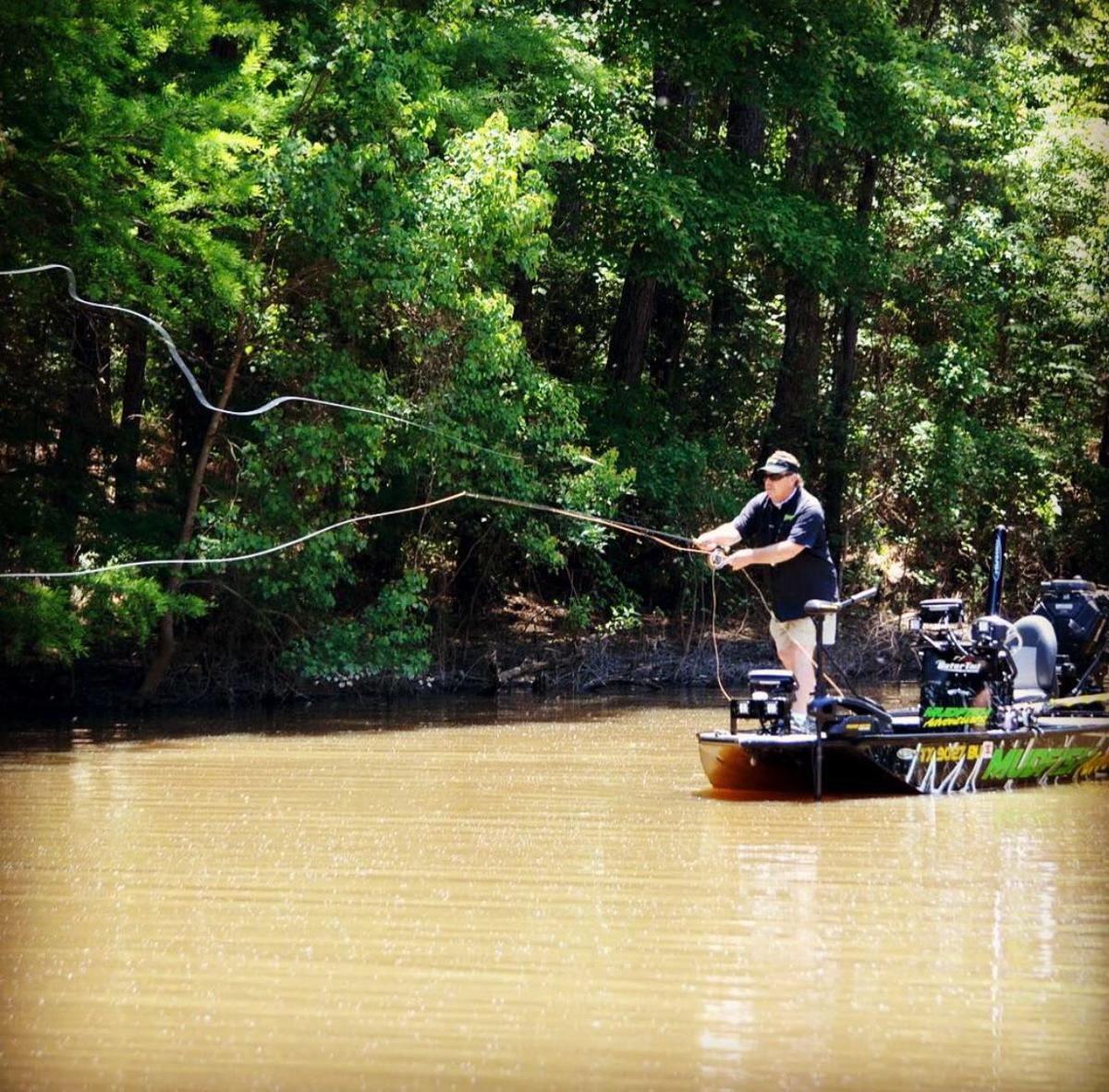 Learning to Fly, let Mudfish Adventures show you the knot