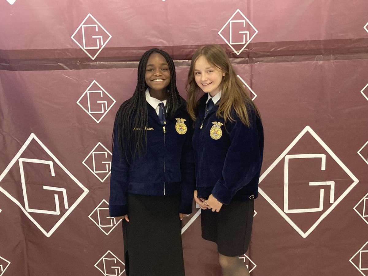 10th Place and 11th place Junior Creed Speakers Armani Mason & Mahala Maxey