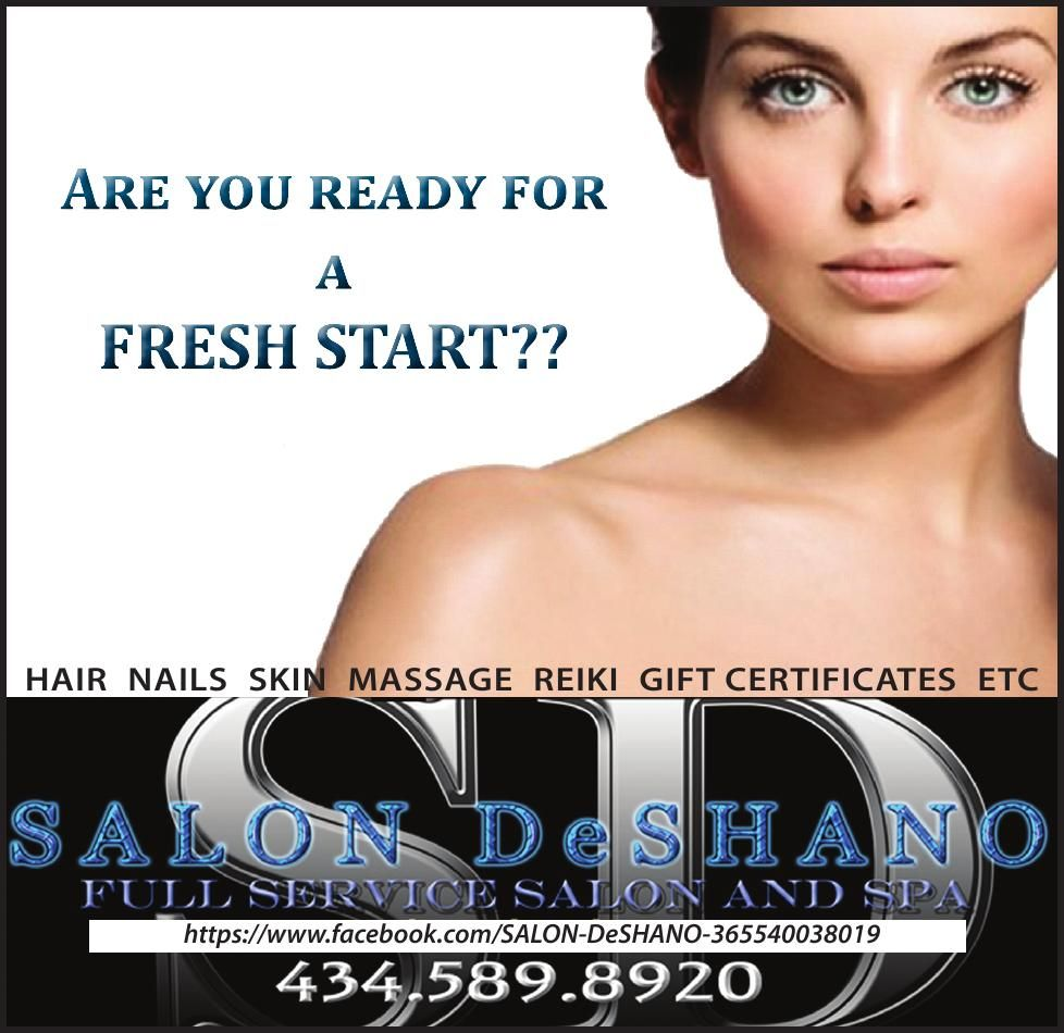 Salon DeShano Fresh Start