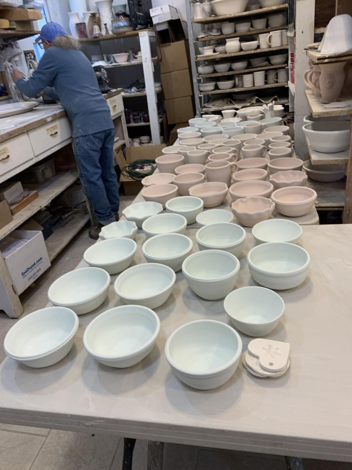 Blue Ridge Pottery Wildlife Fundraiser