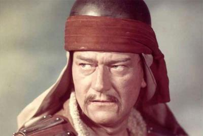 Image result for john wayne as genghis khan