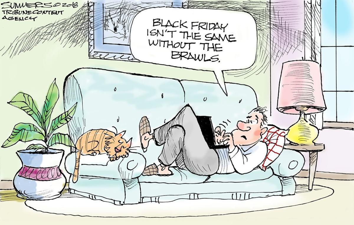 Black Friday Cartoon Pictures Black Friday Andertoons Cartoon Blog