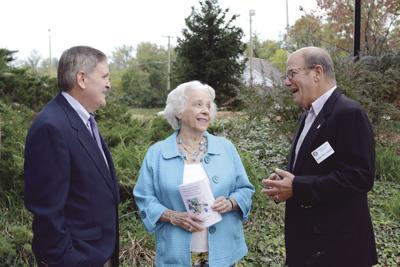 Rotary Club rededicates memorial tree