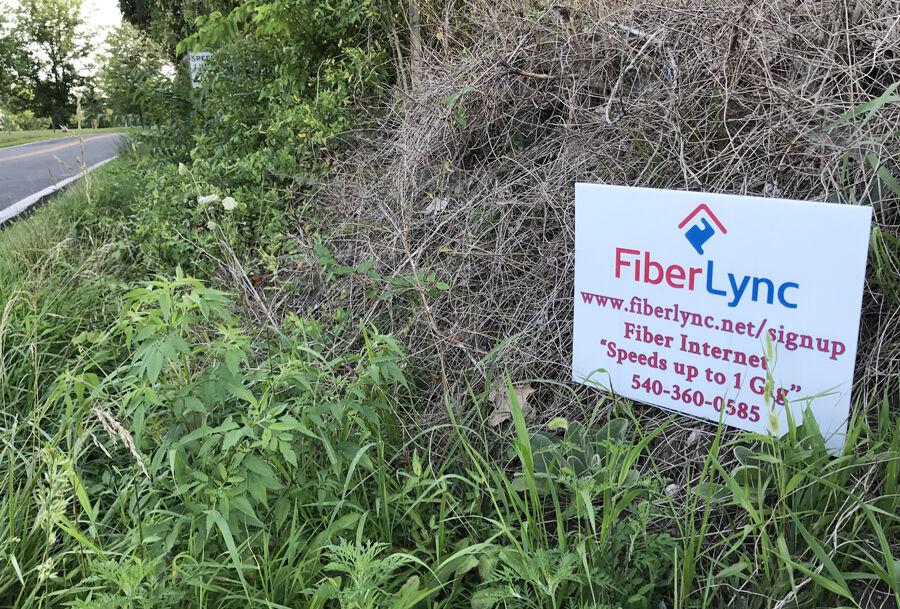 J-FiberLync sign