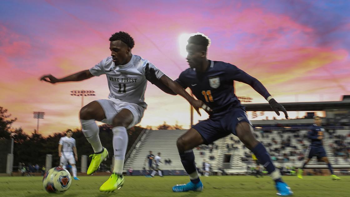 Photos: Virginia men's soccer advances to ACC Championship with win over Wake Forest