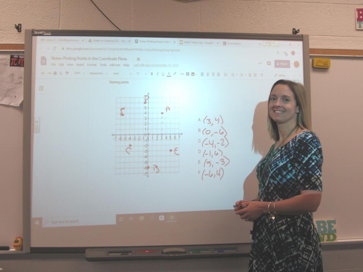 Two Greene teachers earn national certification