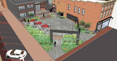 Outdoor appreciation: Hub receives grant for plaza
