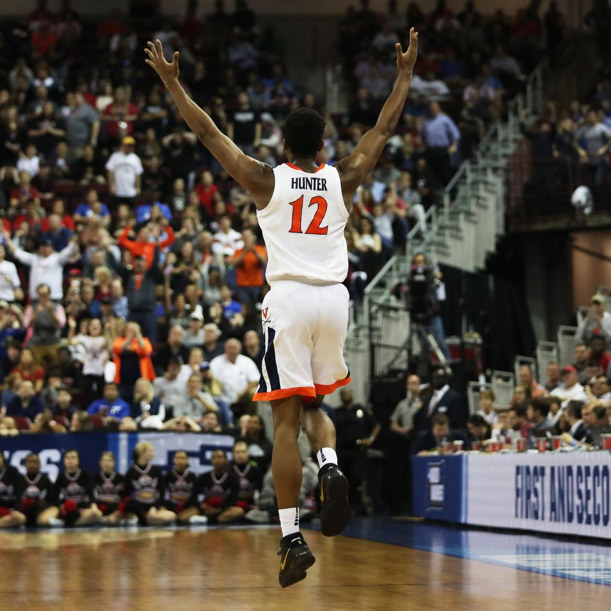 Virginia basketball team overcomes slow start to top Gardner-Webb in NCAA  Tournament  ead3ce2f3