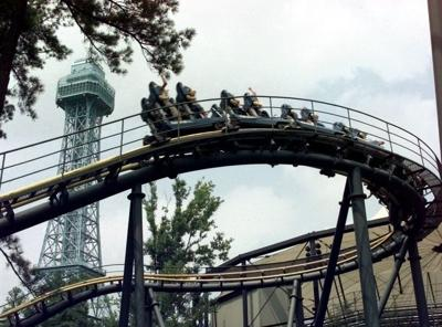Kings Dominion eliminating Shockwave roller coaster