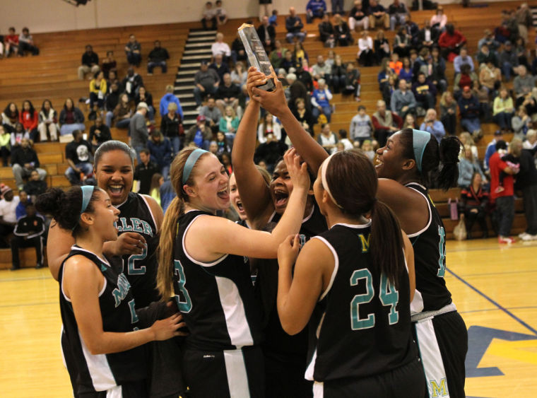 Progress Lighting Lucky Collection 33 56 In 4 Light: Miller School Girls Win Holiday Basketball Classic