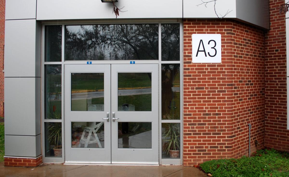School Entrance Doors : Albemarle numbering every exterior school door for safety