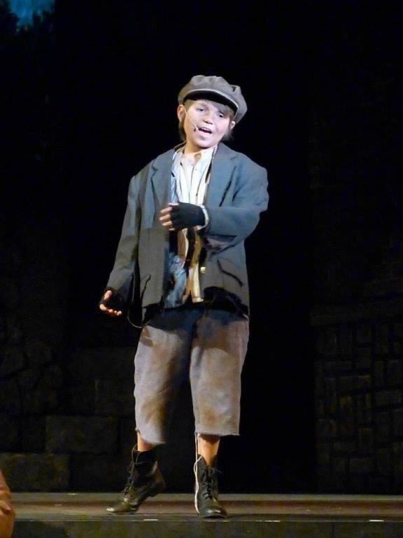 Young actor pursues passion for theater