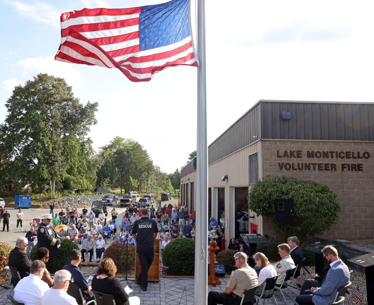 Lake Monticello - 9/11 ceremony
