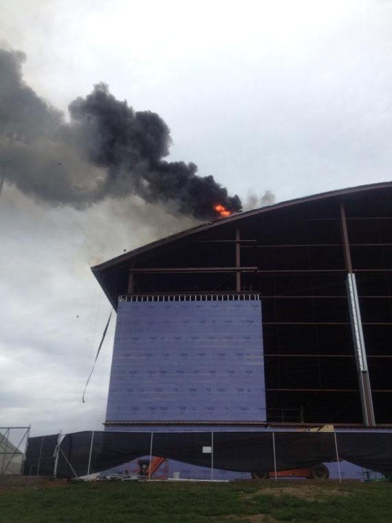 Fire Erupts At New Uva Football Practice Center News