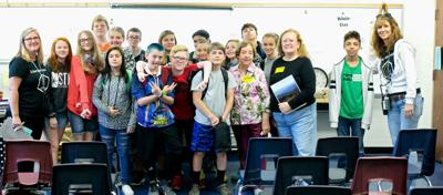 WMMS students learn Stanardsville folklore