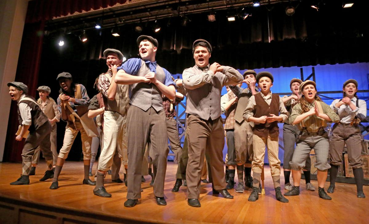 "Stop the presses!:  ""Newsies"" delivers at Stuarts Draft High"