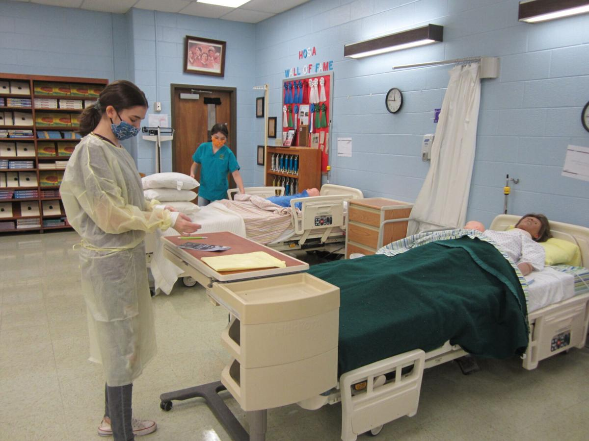 Hands-on learning continues in cosmetology and nursing