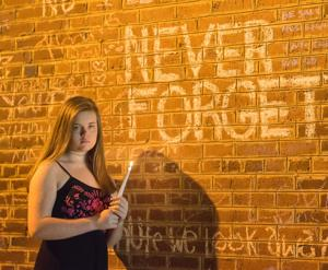 Ahead of Sunday concert, teen releases song influenced by Aug. 12